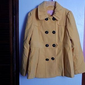 """🎄CHRISTMAS SALE🎄  """"Yellow pea coat """""""